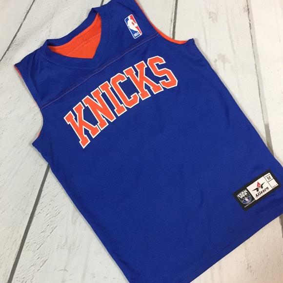 the latest 63b02 7e4f0 Boys Knicks Jersey M